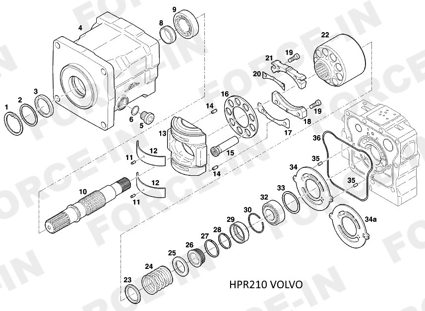 Втулка HPR210